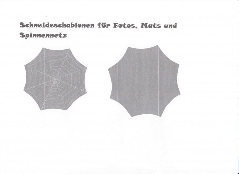 spinnennetz vorlage