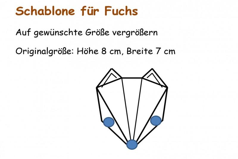 Fuchs basteln