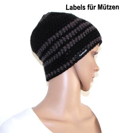 labels fuer Muetzen