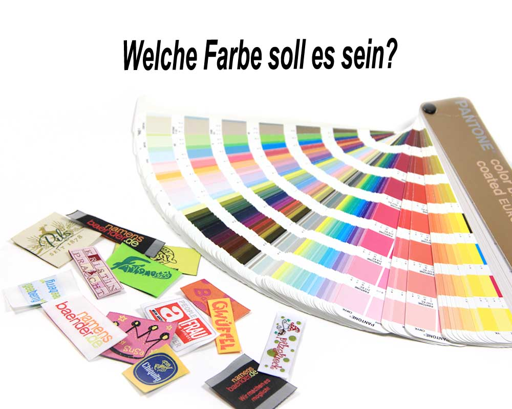 Alles Pantone Farben, RAL oder was?