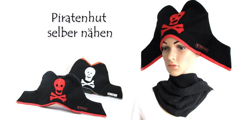piratenhut naehen-piratenhut selber naehen, piratenhut schnittmuster-mit textietikett