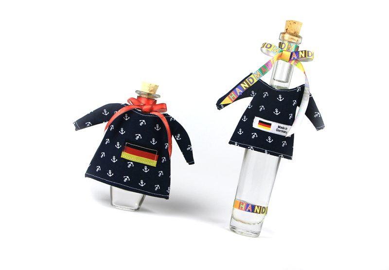 Deko für Flaschen - T-Schirt