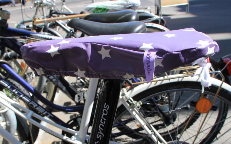 Fahrradsattel nähen