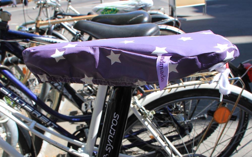 Gratis Anleitung: Schutzhülle für Fahrradsattel nähen