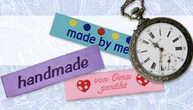 Handmade Textiletiketten