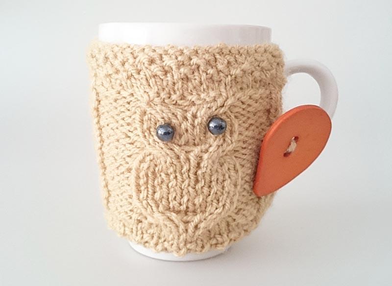 Strickanleitung: Hübschen Tassenwärmer stricken