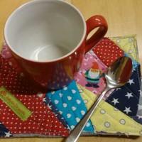 Nähanleitung: Tassenuntersetzer bzw. Mug-Rug nähen