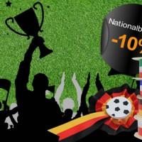 10% Rabatt auf Nationalbänder