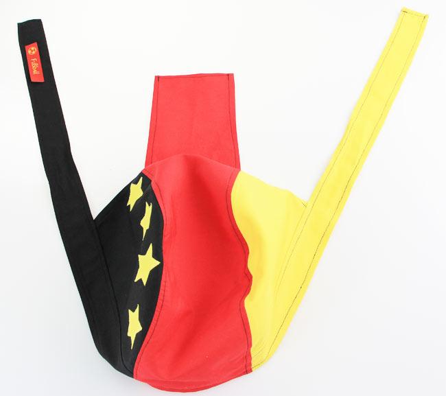 Anleitung-Kopftuch-Bandana-naehen-schnittmuster-schwarz-rot-gelb ...