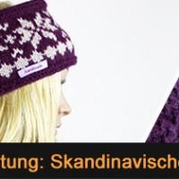 Kostenlose Anleitung: Stirnband mit skandinavischem Muster stricken