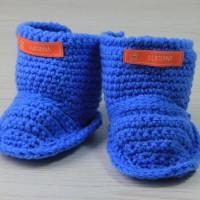 Uggs für trendige Kids - Babyschuhe häkeln