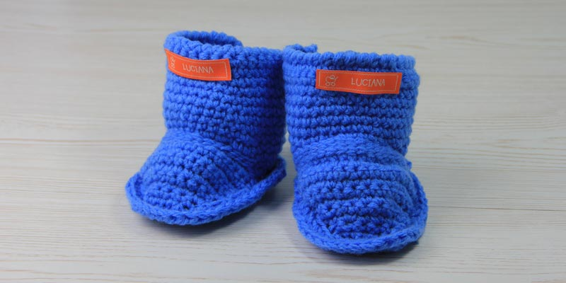 Uggs Für Trendige Kids Babyschuhe Häkeln Der Namensbaenderde