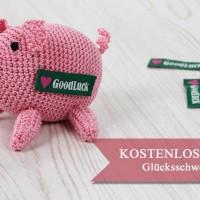 Anleitung: Glücksschweinchen als Gastgeschenk zu Silvester häkeln