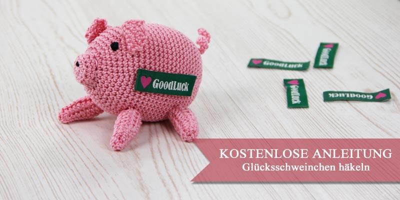 Anleitung: Glücksschweinchen als Gastgeschenk zu Silvester häkeln ...