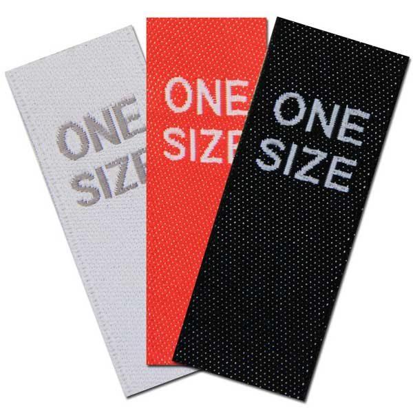 one size Größenlabels