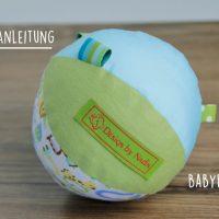 Kostenlose Anleitung: Babyball in Patchwork nähen