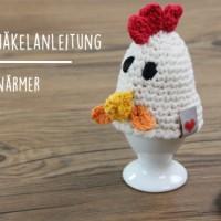 Gratis-Anleitung: Huhn als Eierwärmer häkeln