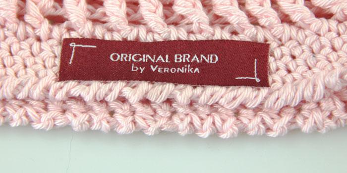 Namensbaender Textiletiketten Sommermuetze Haekeln Kostenlose