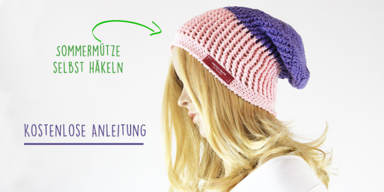 Gratis Anleitung Rosa Sommermütze Häkeln Der Namensbaenderde