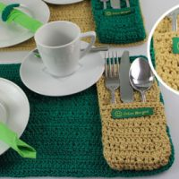 Kostenlose Anleitung: Praktisches Tischset häkeln