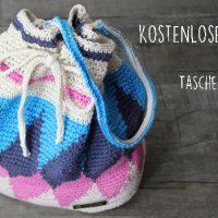 Kostenlose Anleitung:  Schicke Häkeltasche in der Technik Tapestry