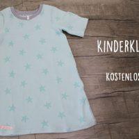 Kostenlose Anleitung: Kinderkleid nähen