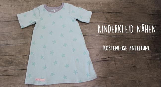 Kostenlose Anleitung: Kinderkleid nähen | Der namensbaender.de ...