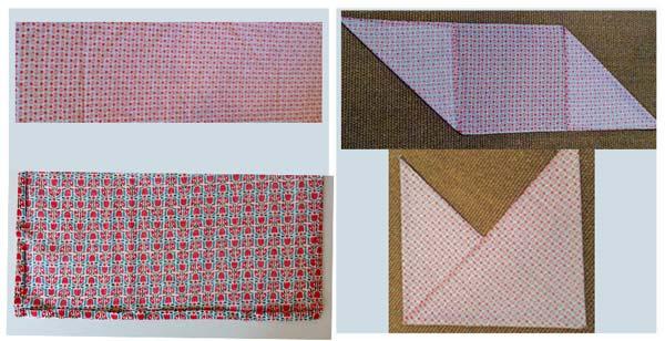 Origami Tasche Nähen Gratis Anleitung Der Namensbaenderde
