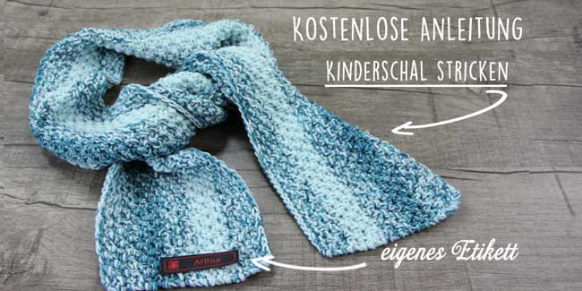 Kinderschal stricken