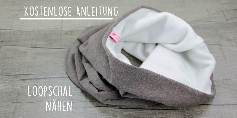 Kostenlose Anleitung: Loop Schal aus Fleece nähen | Der ...