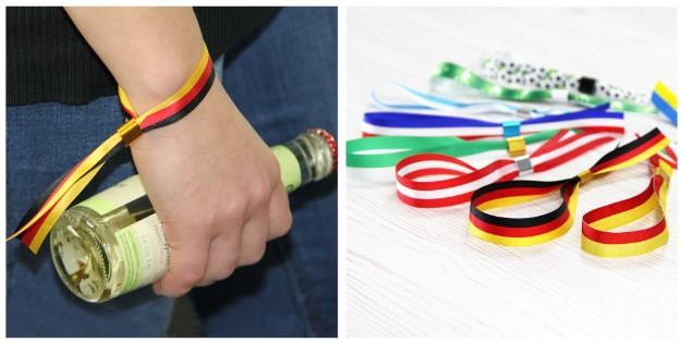 Eintrittsbänder, deutsche Farben