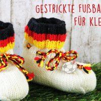 Fußballschuhe selbst stricken