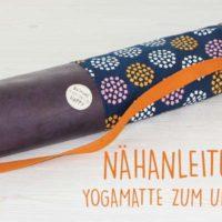 Kostenlose Anleitung-Tasche für Yogamatte zum Umhängen