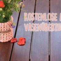 Kostenlose Anleitung: Vasenüberzug häkeln