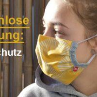 Mundschutz nähen – kostenlose Anleitung