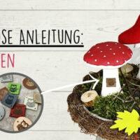 Kostenlose Anleitung: Deko-Pilze nähen
