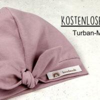 Kostenlose Anleitung: Turban-Mütze nähen