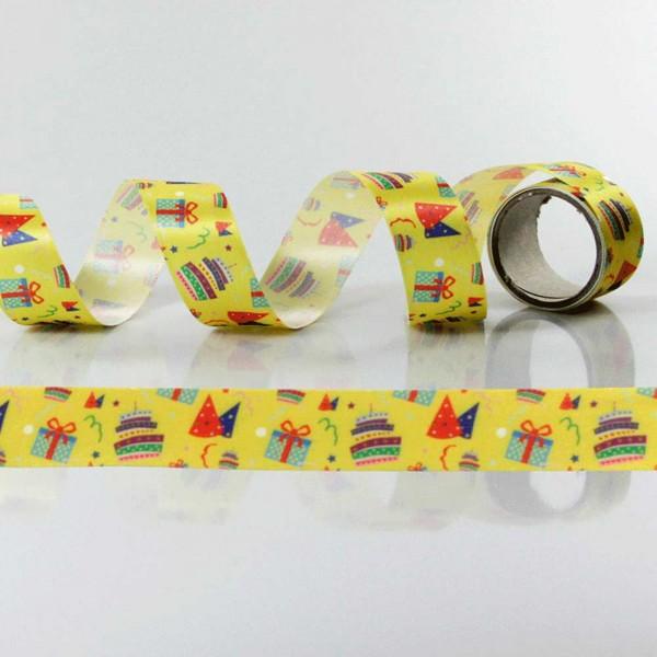 Gift Ribbon with design Birthday