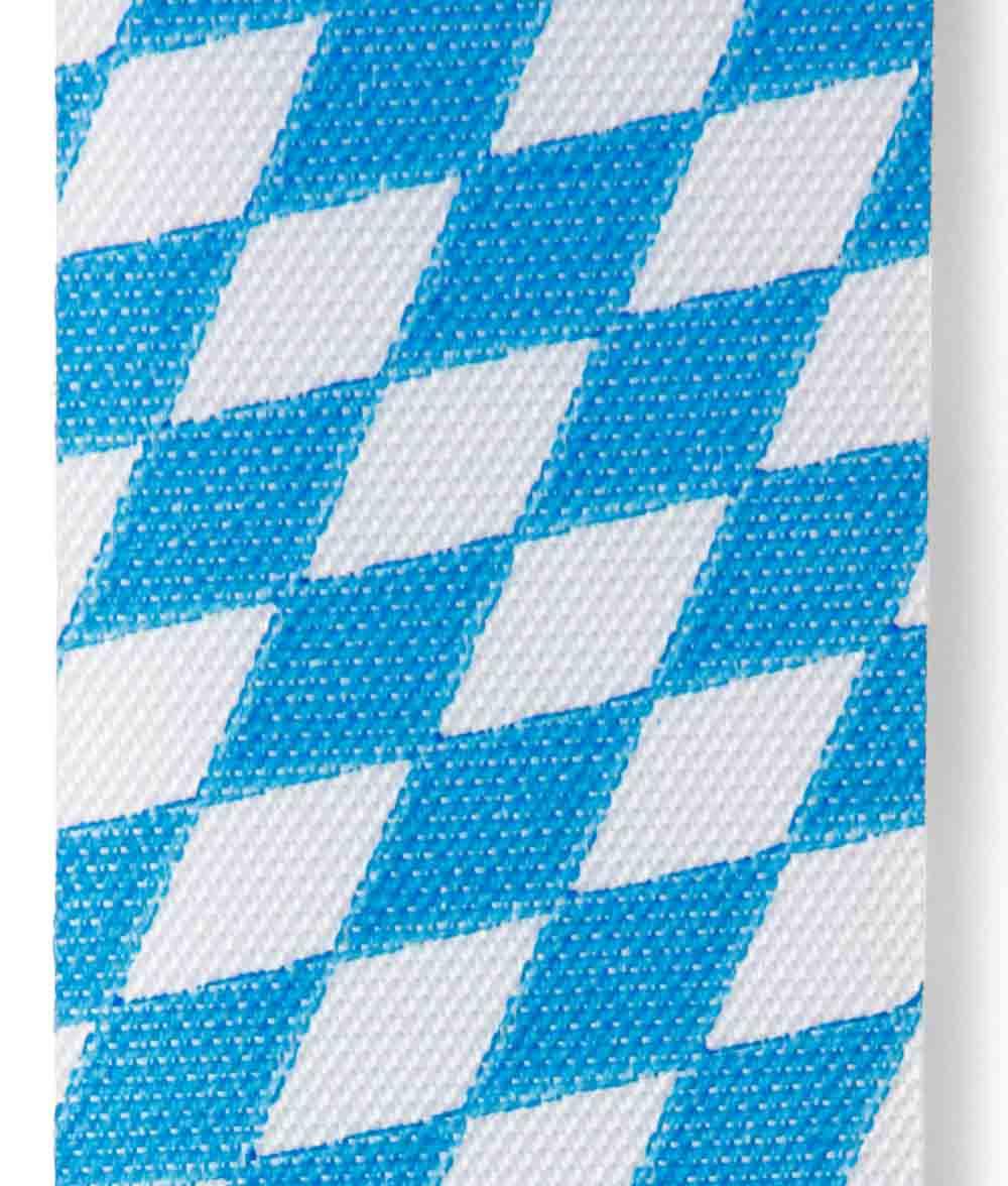 Nationalband / Vereinsband Blau-weiß Bayern / Bayerische