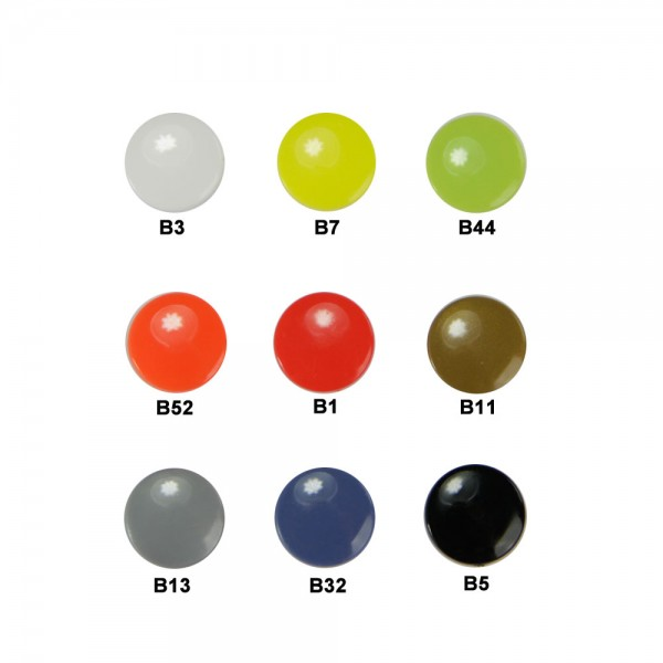 Plastic Pins - round small (Kam Snaps T3)