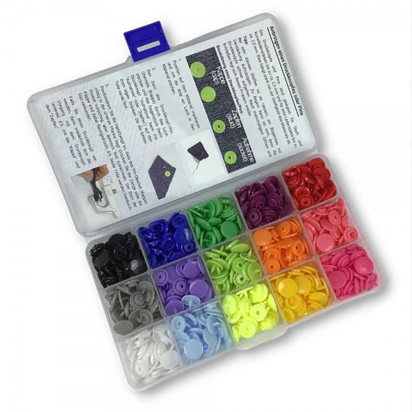 Druckknopf-Pin-Set