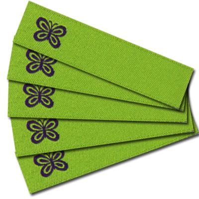 """Fix&Fertig - Write-on label """"butterfly"""" (iron-on)"""