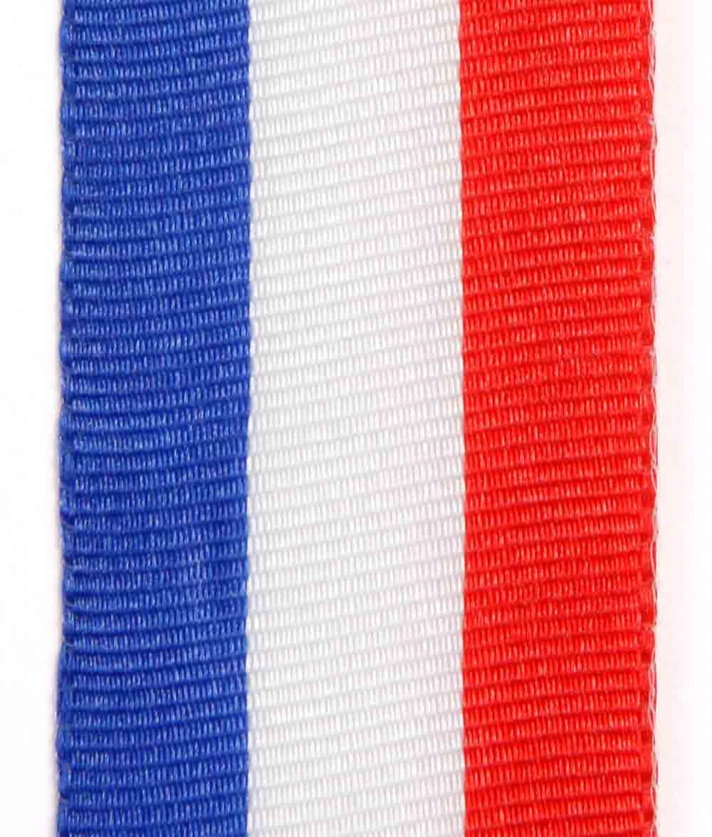 Weiß Rot Blaue Flagge: Nationalband / Vereinsband Blau-weiß-rot Für Frankreich