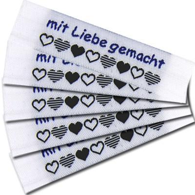 """Fix&Fertig - Label with design """"mit Liebe gemacht"""" 1"""