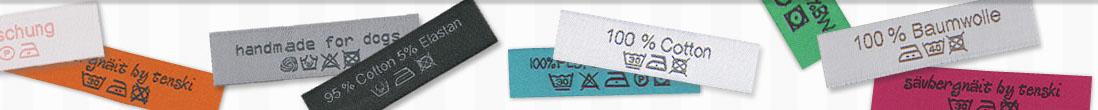 Wäscheetiketten-Pflegesymbol