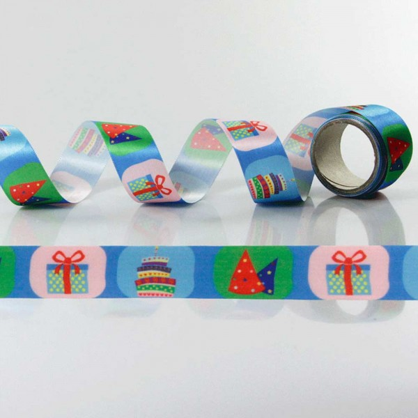 Gift Ribbon with design Birthday 2