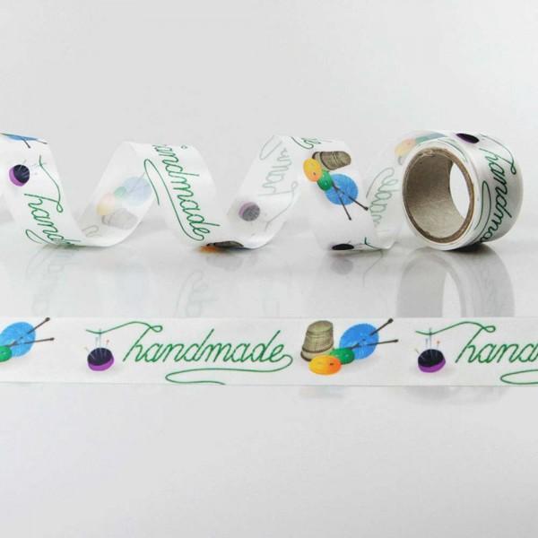 Satin-Geschenkband Handmade 3
