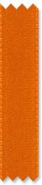 Satin-Geschenkband orange, Dekoband