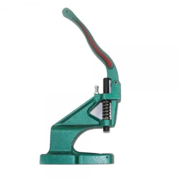 Handpresse für Druckknöpfe, Pins und Metallösen