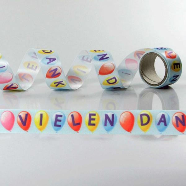 Gift Ribbon with design Vielen Dank 2